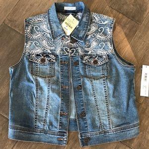 NWT Tribal Jeans - Boho Stitching Size M